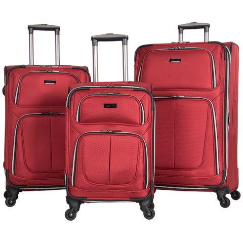 Kenneth Cole Reaction 'Lincoln Square' 3-piece Expandable 4-wheel Upright Spinner Luggage Set