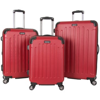 Kenneth Cole Reaction 3-Piece Lightweight Expandable Hardside 8-Wheel Spinner Luggage Set