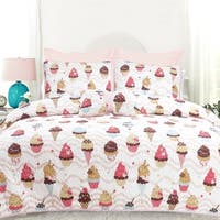 DriftAway 3/4 Piece Sweet Dream Bedspread/ Coverlet, 100% Cotton Cover