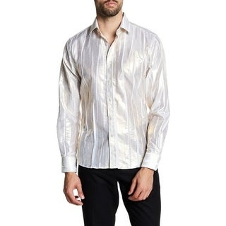 Metalic Fabric Dinner Dress Shirt (More options available)