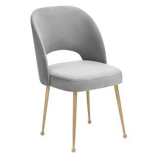 Velvet Kitchen & Dining Room Chairs For Less   Overstock
