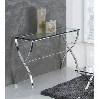 Best Master Furniture Glass Rectangular Sofa Table