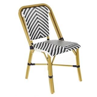 Cafe Bistro Indoor/Outdoor Rattan Dining Chair