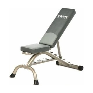 YORK Multi-Position Fitness Bench Press w/ Fitbell Storage