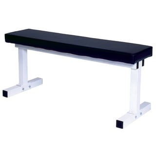 YORK Pro Series 101 White Flat Bench Press
