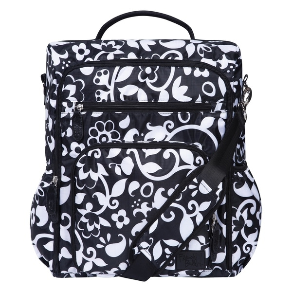 French Bull by Trend Lab Vine Convertible Backpack Diaper Bag