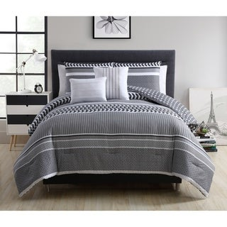 VCNY Home Malik Reversible 5-piece Comforter Set