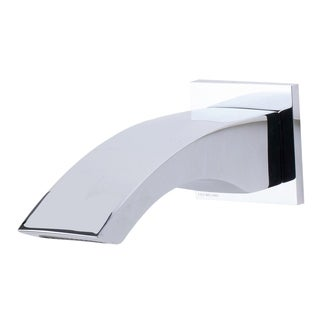 ALFI brand AB3301-PC Polished Chrome Curved Wallmounted Tub Filler Bathroom Spout