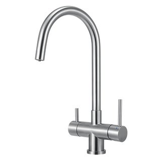 Alfi Brand Brushed Stainless Steel Kitchen Faucet