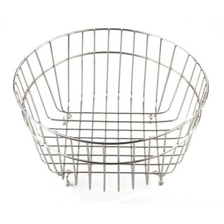 ALFI brand AB40SSB Round Stainless Steel Basket for AB1717 - Silver