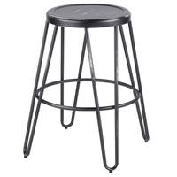 Avery Industrial Metal Counter Stool by LumiSource (Set of 2)