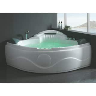 Buy jetted tubs online at our best for Whirlpool garden tub