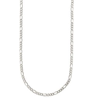 Pori Jewelers 925 Sterling Silver Super Light High Polished 5 2 MM Figaro 150 Chain Necklace
