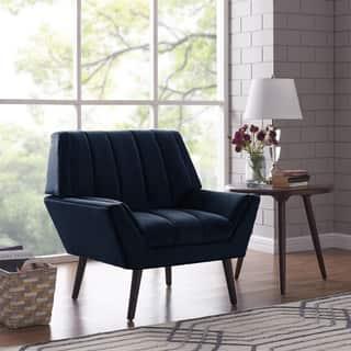 Velvet Living Room Chairs For Less Overstock Com