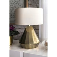 "Watch Hill 20"" Kimberly Aluminum Cotton Shade Table Lamp"