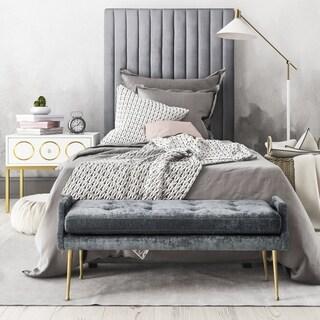 Arabelle Grey Bed in Twin
