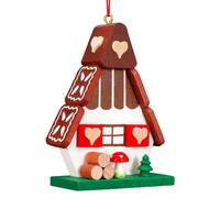 Christian Ulbricht Holiday Christmas Home Decor Gingerbread House Ornament