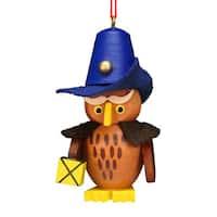 Christian Ulbricht Holiday Christmas Home Decor Owl Nightwatchman Ornament