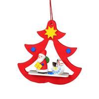 Christian Ulbricht Holiday Christmas Home Decor Santa Red Tree Ornament