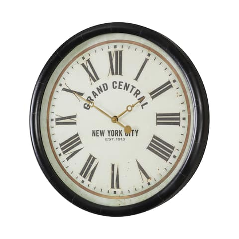 Uttermost Leonor Grand Central Wall Clock