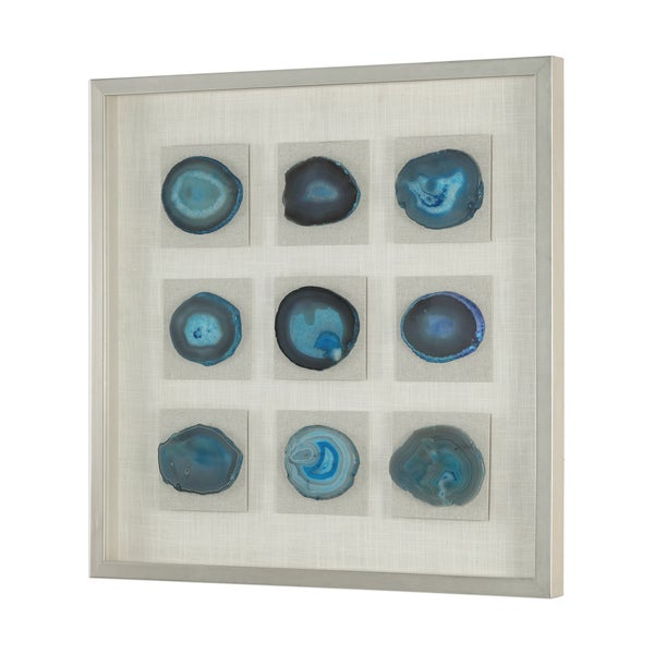 Uttermost Cerulean Blue Stone Shadow Box. Opens flyout.