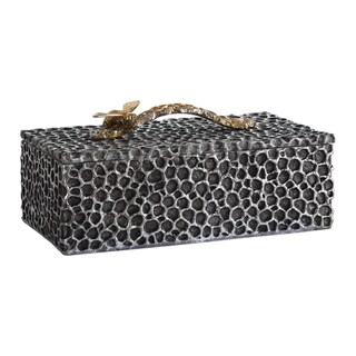 Link to Uttermost Hive Aged Black Box Similar Items in Accent Pieces