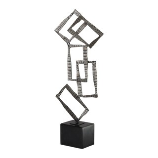 Uttermost Talal Brushed Nickel Sculpture