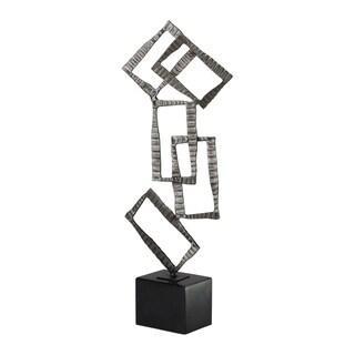 Uttermost Talal Brushed Nickel Sculpture