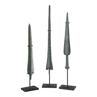Uttermost Bronze Age Blades Sculptures (Set of 3)