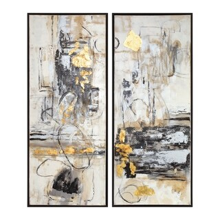 Uttermost Life Scenes Abstract Arts (Set of 2)