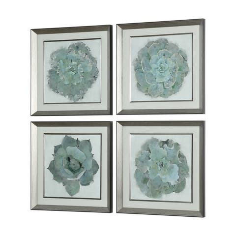 Uttermost Natural Beauties Botanical Prints (Set of 4)