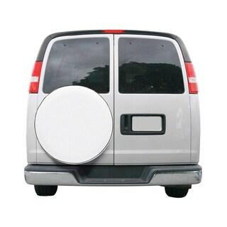Classic Accessories 75130 Custom Fit Spare Tire RV Cover, Snow White