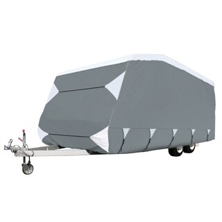 Classic Accessories OverDrive PolyPRO 3 Deluxe Caravan Cover, Fits 18' - 20' Trailers