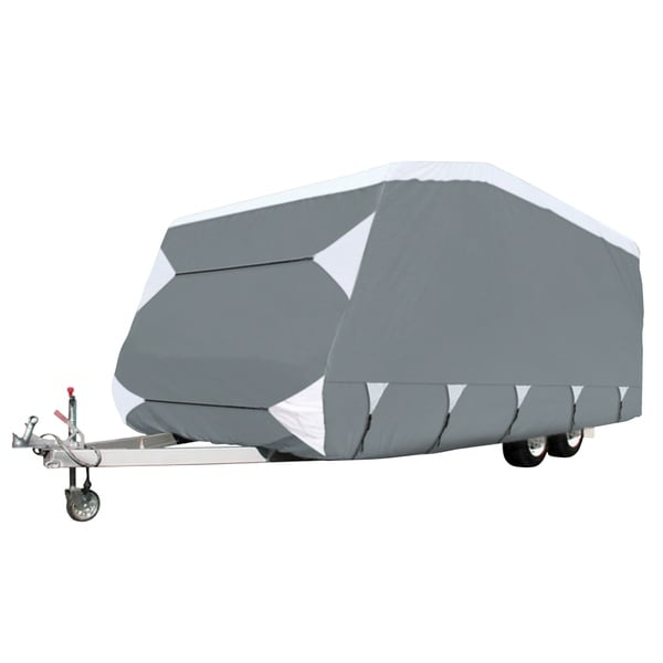 Classic Accessories OverDrive PolyPRO™ 3 Deluxe Caravan Cover, Fits 16' - 18' Trailers
