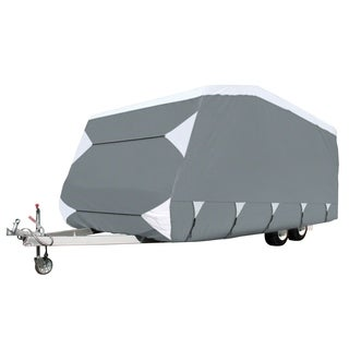 Classic Accessories OverDrive PolyPRO 3 Deluxe Caravan Cover, Fits 16' - 18' Trailers