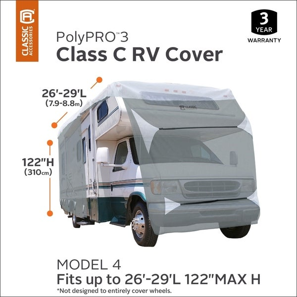 Classic Accessories OverDrive PolyPro 3 Heavy Duty Full Size SUV//Truck Cover