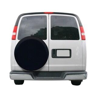 Classic Accessories 75387 Black Universal Fit Spare Tire RV Cover