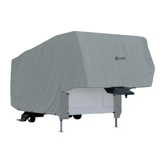 Classic Accessories 80-153-181001-00 Overdrive PolyPro 1 RV Cover for 33' to 37' 5th Wheel Trailer