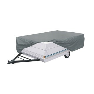 Classic Accessories 80-213-191001-00 PolyPRO 1 Pop-up Camper Trailer RV Cover, fits trailers 18 foot to 20 foot L