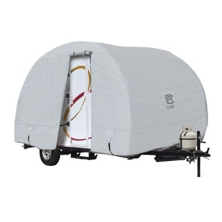 """Classic Accessories OverDrive PermaPRO Deluxe R-Pod Cover, Fits up to 18' 8"""" long RVs"""