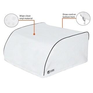 Classic Accessories 80-249-202801-00 RV Air Condition Cover, White