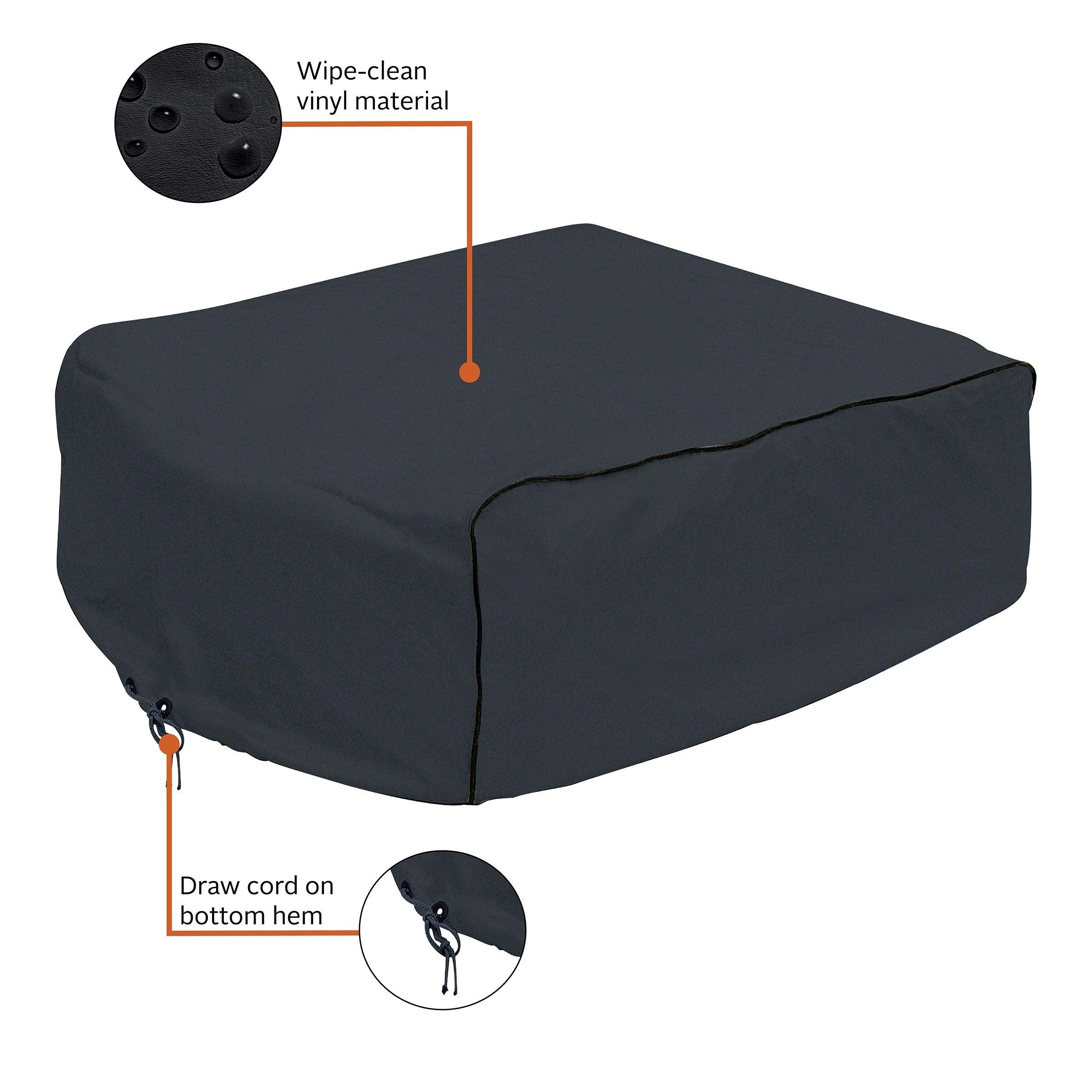 Classic 80-232-150401-00 RV Air Conditioner Cover, Black