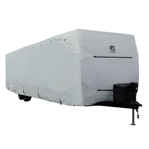 Classic Accessories OverDrive PermaPRO Deluxe Travel Trailer Cover, Fits 15' - 18' RVs
