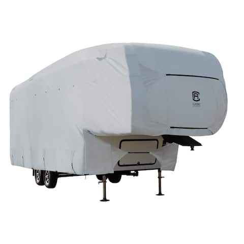 Classic Accessories OverDrive PermaPRO Deluxe 5th Wheel Cover, Fits 26' - 29' RVs