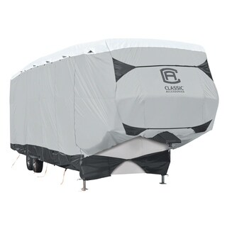Classic Accessories OverDrive SkyShield Deluxe Tyvek® 5th Wheel Trailer Cover, Fits 20' - 23' Trailers