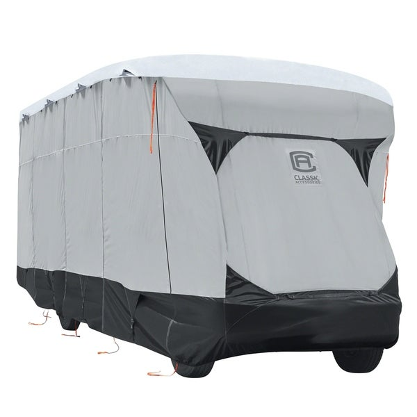 Classic Accessories OverDrive SkyShield™ Deluxe Tyvek® RV Class C Cover, Fits 32' - 35' RVs