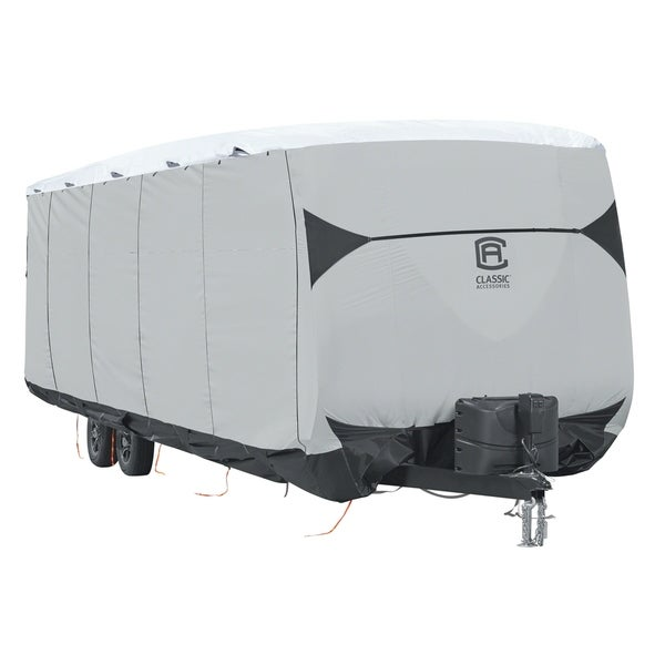 Classic Accessories OverDrive SkyShield™ Deluxe Tyvek® Travel Trailer Cover, Fits 35' - 38' Trailers