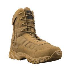 Men's Altama Footwear Vengeance SR 8in Side-Zip Boot Coyote Suede