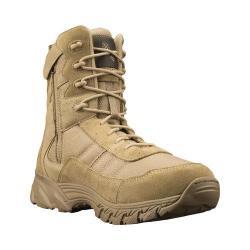 Men's Altama Footwear Vengeance SR 8in Side-Zip Boot Tan Suede