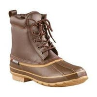 Men's Baffin Moose Lace Up Duck Boot Brown